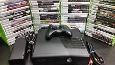 Microsoft Xbox 360 S E 4GB System Console with 5 games