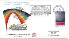 1986 - ENVELOPPE FLAMME 1er JOUR - N° 2445 - CONFERENCE ENERGIE - CANNES