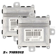 2PC×7189312 For BMW E60 525 530 550 ALC Xenon HID Headlight Light Control Module