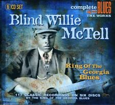 Blind Willie McTell - King of the Georgia Blues [New CD] UK - Import