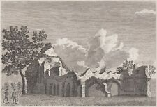 1773 Three Antique Engravings - WAVERLEY ABBEY, SURREY & BISHOP'S WALTHAM PALACE