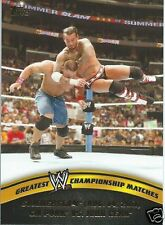 CM Punk John Cena 2014 WWE Topps Greatest Championship Matches Trading Card #13