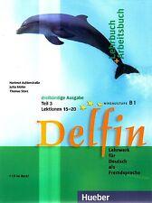 Hueber DELFIN Lehrbuch+Arbeitsbuch TEIL 3 Lektionen 15-20 mit CD Niveau B1 @New@
