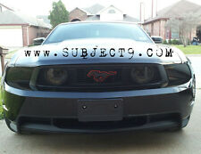 Mustang 10-12 HEADLIGHT vinyl black out Front kit smoked tinted