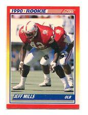 1990 Score #653 Jeff Mills Nebraska Cornhuskers Rookie