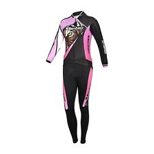 Monton Road Tiger Women's Cycling Jersey and Pants Trousers Long Sleeve Sets