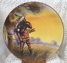 NIPPON RARE BLOWN OUT CHARGER INDIAN GOOSE HUNTER - UNDER TREE - WYETH - C-1911