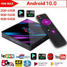H96 Android 10.0 4K HD Quad Core Smart TV BOX RK3318 2.4/5G WIFI BT Media Player