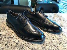 Allen Edmonds Walton Black Leather Split Toe Derby Blucher Dress Shoes 11.5 D