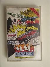 The last V8 - MAD GAMES - SPIELE MC für C64 C128 Anleitung in 4 Sprachen 1985