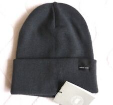 Genuine CANADA GOOSE Iron Grey MERINO WOOL BEANIE Toque Hat Tags GENUINE !