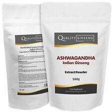Ashwagandha Indio Extracto de Ginseng - 10:1 Extracto Polvo - Fuerza & Calidad