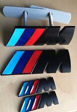 // M Sport noir M POWER METAL Set (1x Front grill 2x Wings + 1x badge coffre) BMW
