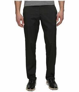 Nike Men's Flat Front Golf Pants 32W x 34L Black/Black MSRP $80