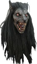 Halloween BLACK MOON WEREWOLF Adult Latex Deluxe Mask Ghoulish Productions