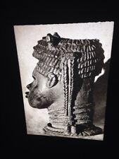 Benin- Udo Style Bronze Head- African Nigerian Tribal Art 35mm Slide