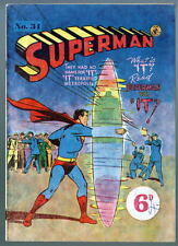 Australian SUPERMAN 34 DC Comics 1950's w Action Comics 162 cover UK