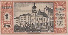 Berlin Notgeld: 92.1.1 Notgeld the City Berlin, District: 1. Mid bankfrisch 1921
