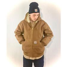 Carhartt WIP Active Pile Jacket Herrenjacke braun