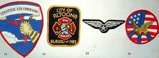 WHOLESALE JOB LOT x 338 patches: Air Command, Altonna, Wings, Eagle USA AIRFORCE