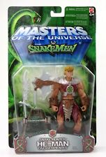 Masters OF THE UNIVERSE MOTU VS il snakemen-Serpente Hunter He-Man Action Figure