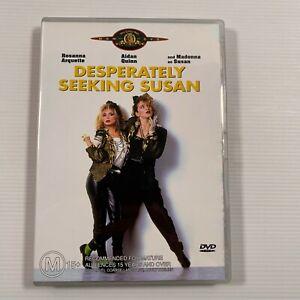 Desperately Seeking Susan (DVD, 2004) 1985 film Madonna Region 4