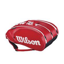Wilson Tour moldeada con 2.0 15er rojo Racket Bag tenis bolso PVP 119,95 € nuevo