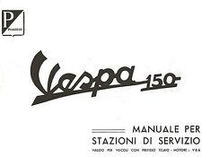 CD MANUALE STAZIONI SERVIZIO-RICAMBI-PIAGGIO VESPA TELAIO-MOTORE VBA 1958-1960