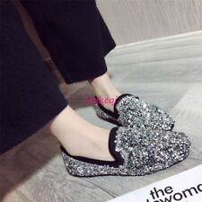 Chic Loafers Women Flats Shoes Bling Bling Sequins Slip On Casual Hot Sale Shoes