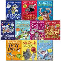 David Walliams 10 Books Collection Set Grandpa Great Escape, Awful Auntie, Demon