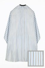 Dincer Barber Cape Vintage Pinstripe Classic Barber Shop Salon Hairdresser Gown