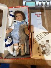 "Rare Vintage Kathe Kruse 10"" Boy Arne Limited 4/80 Blue Outfit Germany New"