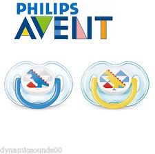 PHILIPS AVENT SCF172/18 orthodontique classique Tétines 0-6 mois 2-pcs garçon