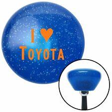 Orange I 3 for TOYOTA Blue Retro Metal Flake Shift Knob with M16 x 1.5 Insert