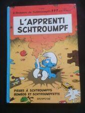 BD L'APPRENTI  SCHTROUMPF   (1977)  (PEYO)  BD39