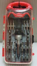 Husky 471827 28pc Mini Ratcheting T-handle Screwdriver Set