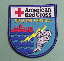 AMERICAN RED CROSS   DISASTER SERVICES  ( FLOOD / TORNADO )  PATCH  VERY NICE!!!