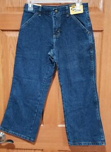 NWT Legendary Gold Boys 10 Husky Utility Denim Jeans