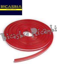 8638 - GOMMA ROSSA STRISCE PEDANA VESPA 125 SUPER SPRINT GT GTR TS VNB1T VNB2T
