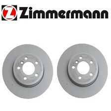 2-Pieces OEM Zimmermann Made in Germany Front Brake Disc Rotors BMW E83 X3