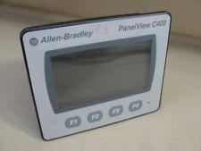 "ALLEN BRADLEY PANELVIEW C400 2711C-T4T SERIES A TERMINAL TOUCH SCREEN 4.3"""