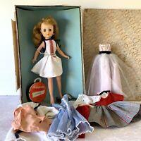 "Horsman 14"" Cindy Doll Original Fashion Clothes + Vintage Box 1957 RARE SIZE"