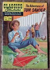Classics Illustrated #50 The Adventures of Tom Sawyer (1971) HRN 169 Stiff Cover