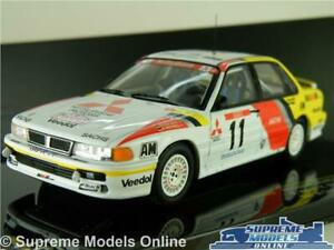 MITSUBISHI GALANT WR-4 MODEL RALLY CAR 1:43 1991 IXO HOLZER TOUR DE RAC223 K8