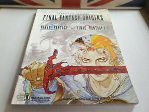 FINAL FANTASY ORIGINS 1 & 2 : BRADYGAMES STRATEGY GUIDES. PS1 edition.