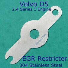 EGR valve blanking / restricter plate Volvo D5 2.4D series 1 engine Euro 3 Hole