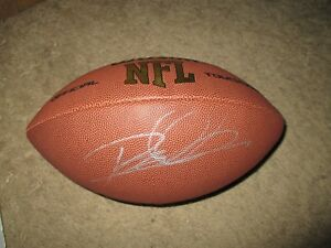 Pittsburgh Steelers ROD WOODSON Signed NFL Football