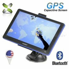 "XGODY 7"" GPS Navigation System w/ Bluetooth Lifetime Maps 8GB Navigator Sav Nav"