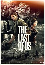The Last of Us  Series Movie Poster Canvas Premium Quality