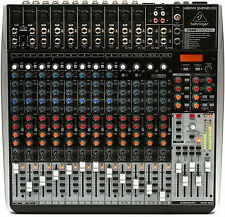 Behringer XENYX QX2442USB 24-Input Mixer w/FX, Compression & EQ Q X2442 USB